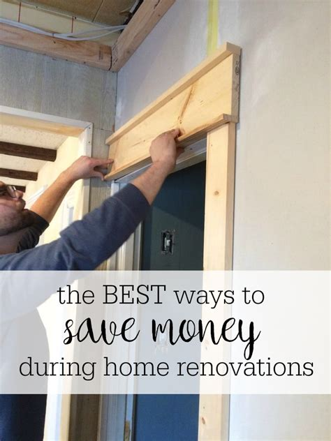 how to save money during home renovations christinas