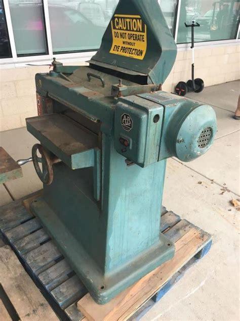 large oliver  wood planer  machine number