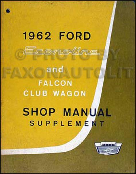 1971 ford econoline owners manual club wagon ebay 1964 econoline falcon club upcomingcarshq com