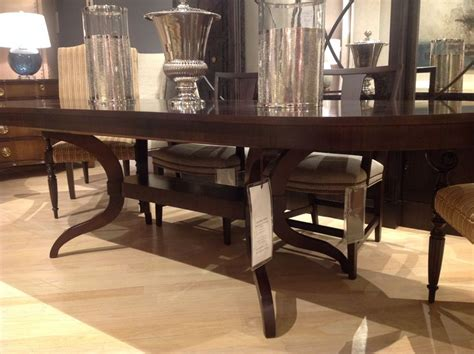 Mercer Dining Table Ny Showroom Hickory Chair Mercer Dining Table Compo Westport Interior Design