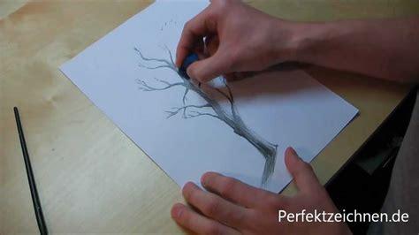 zeichnen lernen  baeume zeichnen lernen lektion