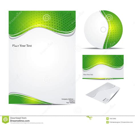 corporate template abstract corporate id template royalty free stock photo