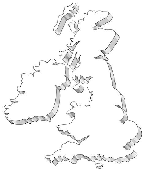 printable art uk free coloring pages of united kingdom outline