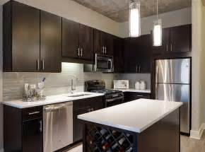 Kitchen Pictures Contemporary Kitchen With Glass Tile Amp Hardwood Floors