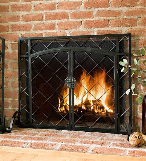 fireplace screen choose the right fireplace screen for your fireplace