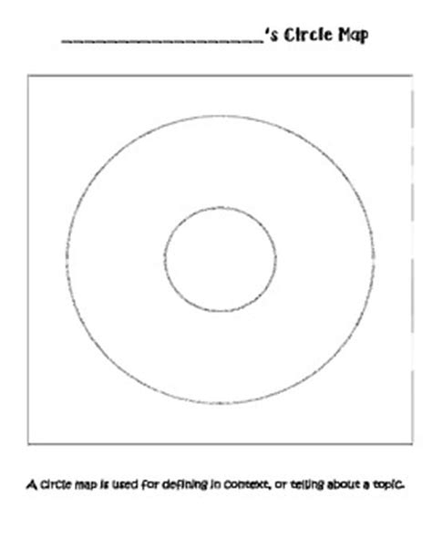 circle map template circle map template by teaching in mouse ears teachers