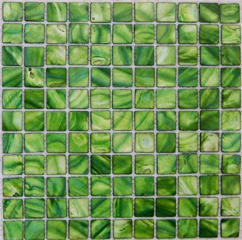 green mosaic tiles bathroom mother of pearl tile kitchen backsplash mop074 green shell