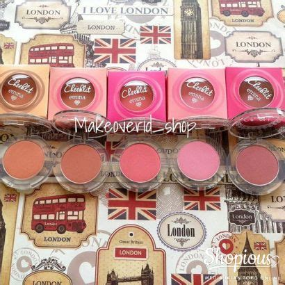 Harga Emina Cheeklit Powder Blush review emina cheek lit blush bitter sweet my makeupdiary