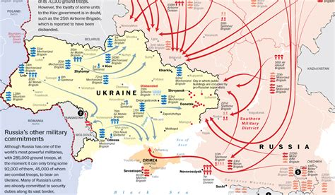 russia map borders russia s buildup on the ukraine border the washington post