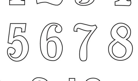 Number Coloring Pages 1 10 Book Coloring Number Coloring Numbers 1 10 Coloring Pages