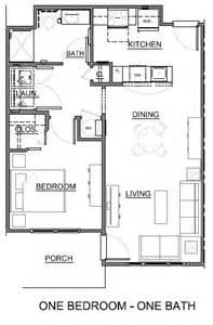 Senior Housing Floor Plans floor plans