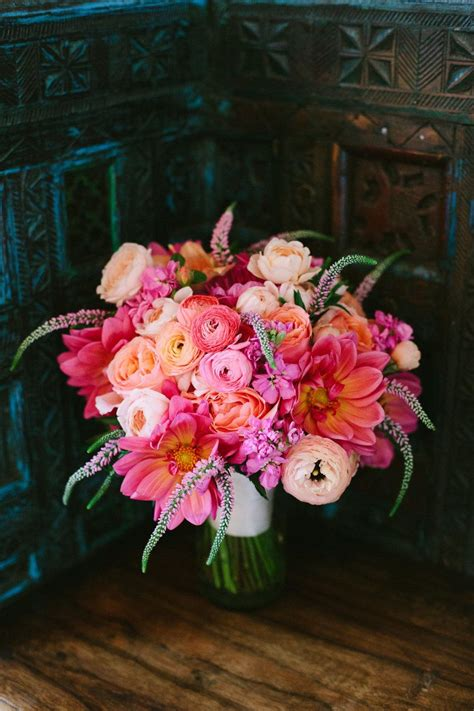 Wedding Pink Flowers by Lush Pink Wedding Bouquet The Prettiest Pink