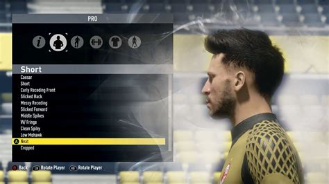 fifa 14 all hairstyles fifa 17 pro clubs new hairstyles beards youtube