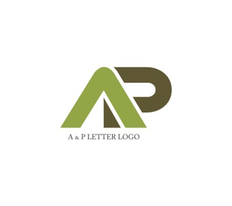 design a letter logo for free vector a p letter logo design download alphabet logos