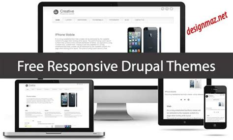 drupal themes bluez great drupal 7 template contemporary exle resume