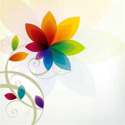colorful floral design background illustrator vector colorful floral background vector material my free