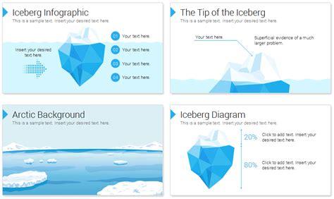 Iceberg Powerpoint Template Presentationdeck Com Iceberg Powerpoint Template