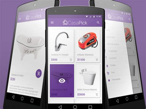 mobile version of casapick mobile version uplabs