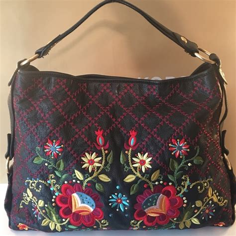 Fiore Folktale Large Hobo Bag by 69 Fiore Handbags Fiore Xlarge