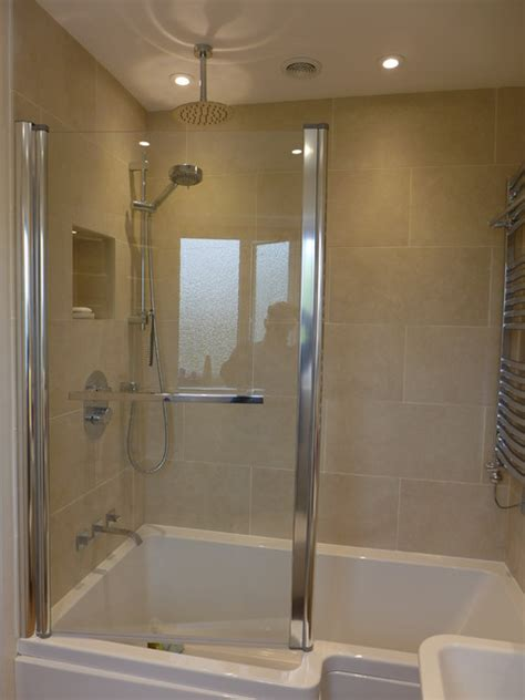 how to fit a bathtub in a small bathroom short shower bath to fit small bathroom contemporary bathroom other by style