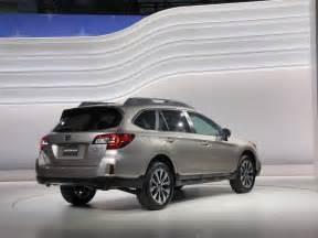Subaru Vehicles 2015 2015 Subaru Outback New York Auto Show
