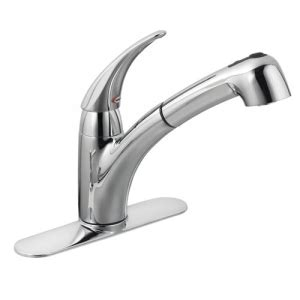 Moen Kitchen Faucet Pull Out Spray Replacement Kitchen Moen Extensa Chrome One Handle Low Arc Pullout Kitchen Faucet Cheap Price