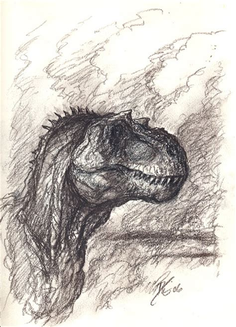 t rex sketch jpg drawings pinterest prehistoric
