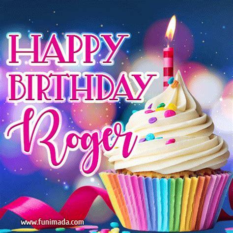 happy birthday roger lovely animated gif   funimadacom