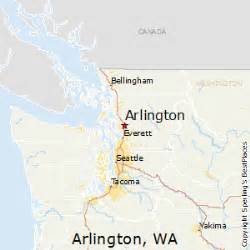 arlington map best places to live in arlington washington