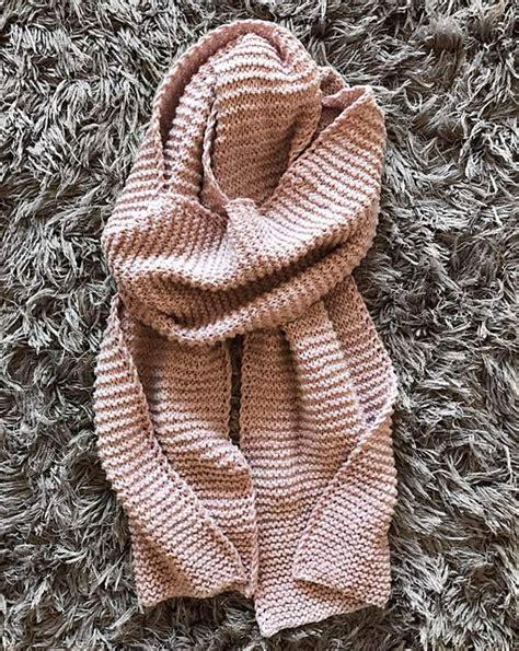 knitting pattern blanket scarf knitting patterns galore twist blanket scarf