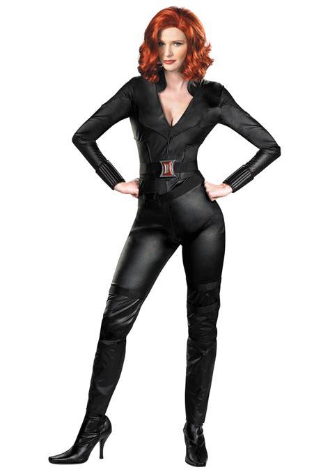 halloween costume black widow deluxe avengers black widow costume