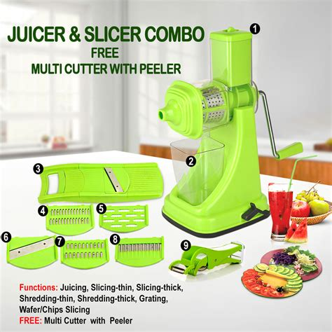 Multi Juicer Kitchen buy juicer slicer combo free multi cutter with peeler