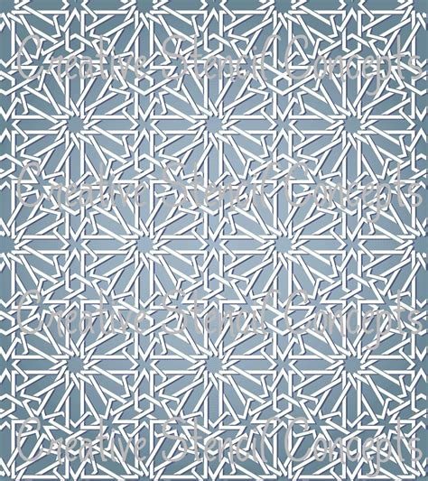 pattern arab design just bought this stencil to use on the porch instead of