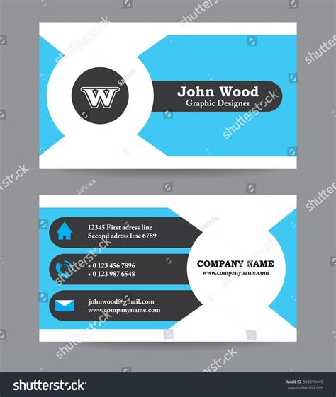 plain business card template word resumes