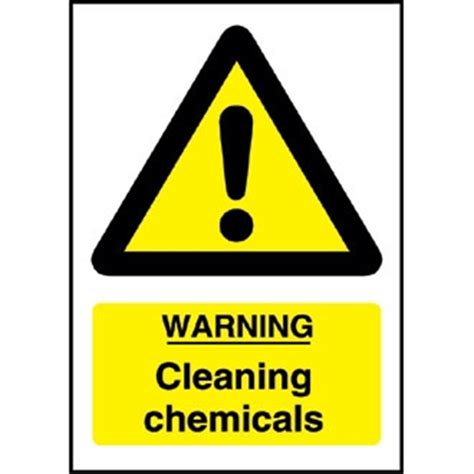 Warning Cleaning Chemicals Sign Waterford Cork Dublin Warning Cleaning Chemicals Sign Waterford Cork Dublin