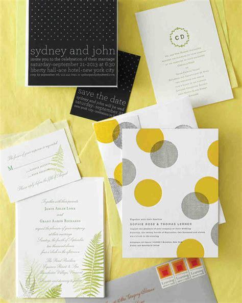 how to put together wedding invitations martha stewart five ways to customize your wedding invitations martha
