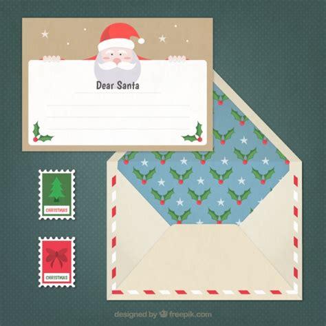 francobolli per lettere lettera per babbo natale e graziosa busta con francobolli