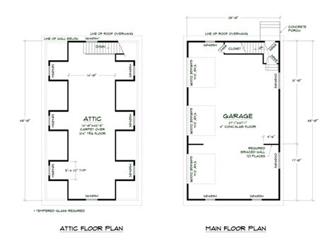 garage floor plan 3 stall garage floor plans