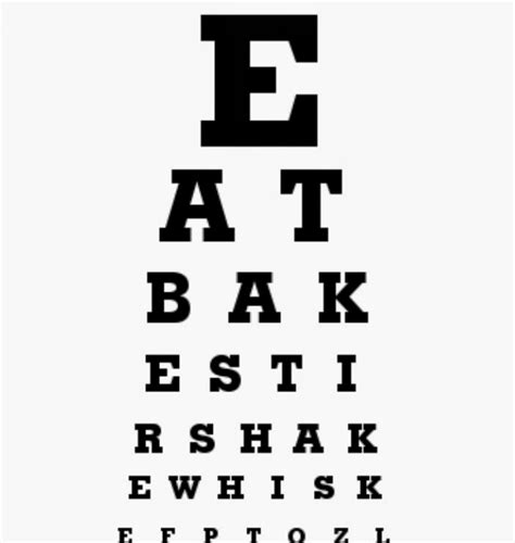 large printable eye chart my sweet savannah free printable eye charts for you