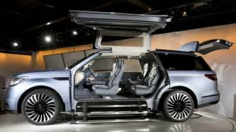 lincoln s navigator concept has falcon wing doors like