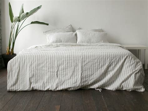 linen bedding reviews wide striped 200ñ 220 linen bedding â buy in kyiv and