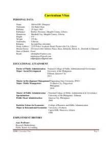 order curriculum vitae paper