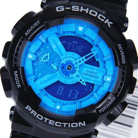 G Shock Time Blue by Casio G Shock Mens Ga 110b Ga 110b 1a2dr