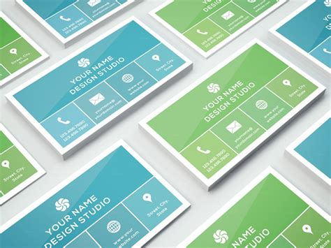 photoshop business cards templates 20 exles of a stylish business card photoshop template