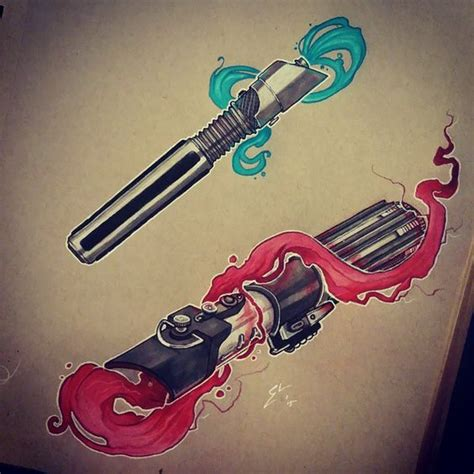 lightsaber tattoo the world s catalog of ideas