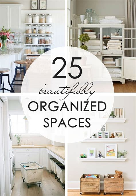 25 Beautifully Organized Spaces Tidbits | 25 beautifully organized spaces tidbits