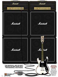 Miniatur Drum Ramones a detailed gear diagram of kurt cobain s nirvana stage