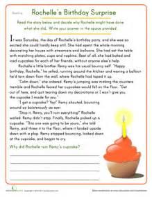 free reading comprehension worksheets 4th grade davezan