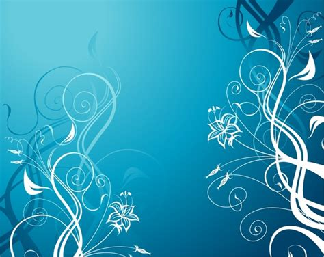 Car Wallpapers Free Psd Background Blue by Vector Blue Floral Background Free Vector In Encapsulated