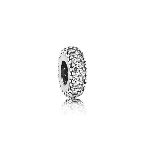 Pandora Inspiration Within With Clear Cz Spacer P 785 inspiration within spacer clear cz pandora jewelry us